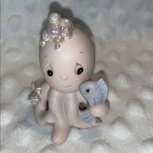 Octopus and fish small Precious Moments figurine